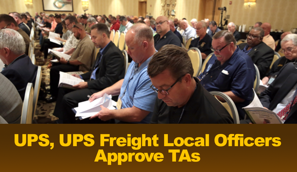 Ups Master Tentative Agreement